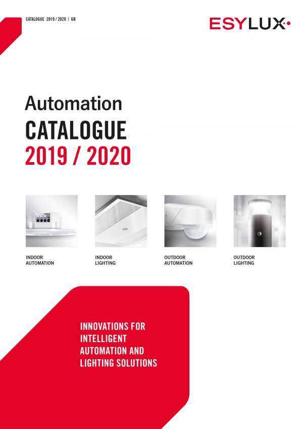 Esylux automation catalogue 2019-2020